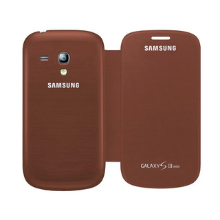 Funda Samsung Galaxy S3 Mini I8190 Flip Cover Cafe