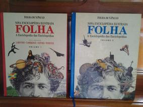 Nova Enciclopédia Ilustrada - Folha - 2 Volumes