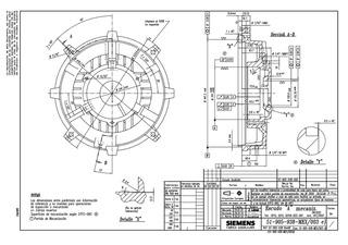 Tapa Para Motor Siemens Modelo A7b10001014128