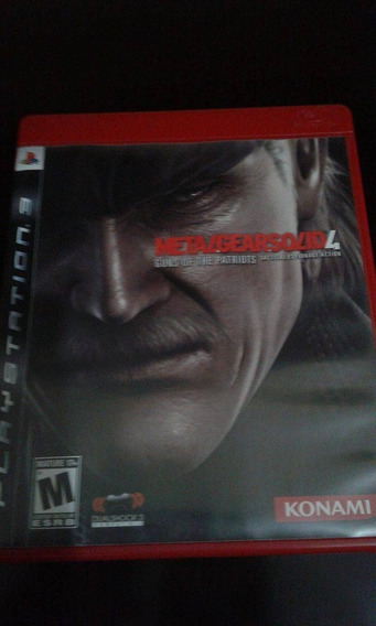Metal Gear Solid 4,original,ps3