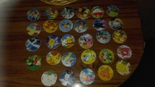 Lote De Tazos Pokemones 2000