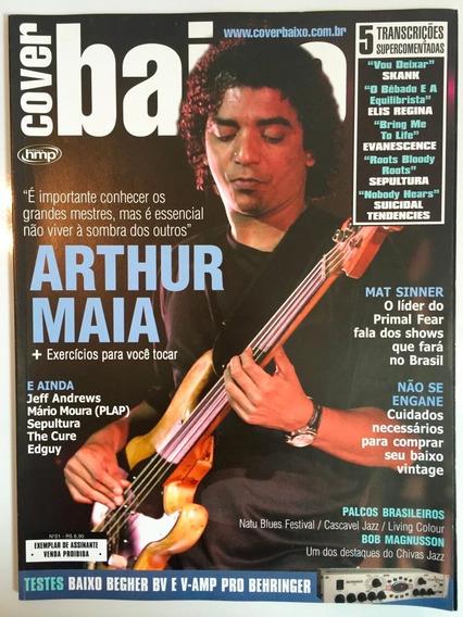 Revista Cover Baixo - Ed 21 - Jun/2004 - Arthur Maia