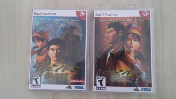 Rép. Shenmue 1 E 2 Para Dreamcast Em Dvd Ou Cd