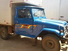 Toyota Bandeirante 1980/1980 Azul C/ Baú