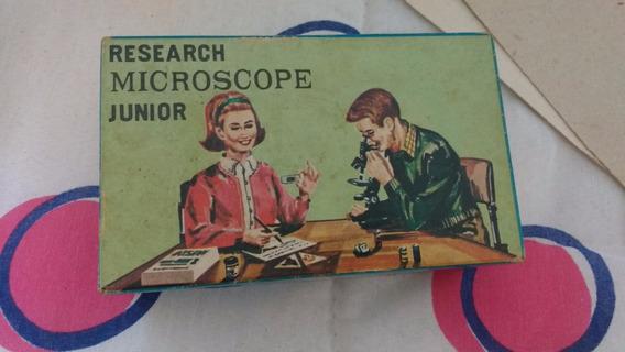 Microscópio Towa Junior 100-300x Anos 1960