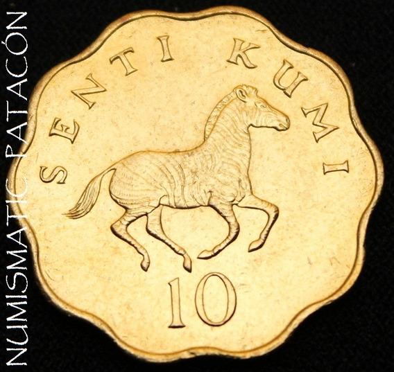 Moneda De Tanzania 10 Senti 1984 - Sin Circular
