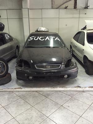 Honda Civic 98 Para Retirada De Peças, Motor, Cambio Civic 9