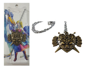 Colar Legend Of Zelda Pingente Twilight Princess Metal