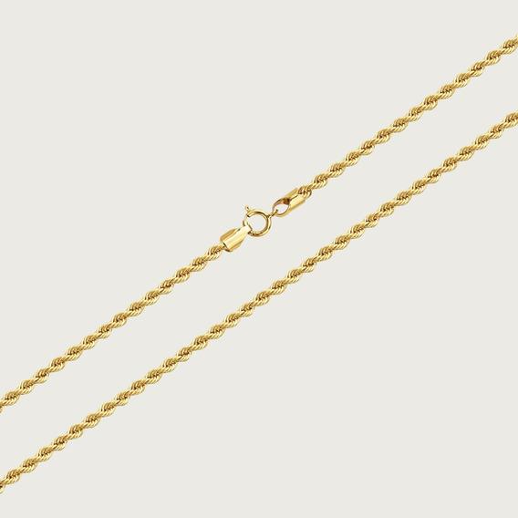 Cordão Em Ouro 18k Com 45cm - 4,2gr