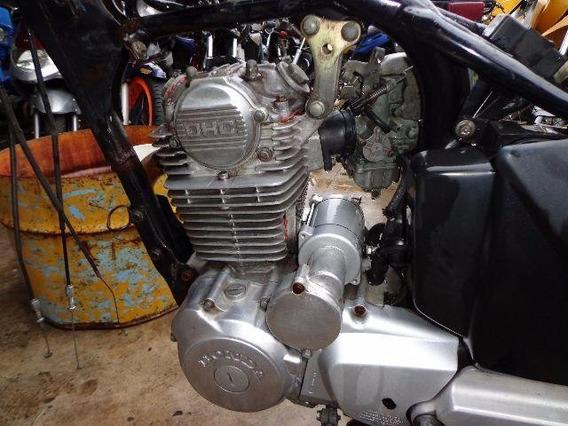 2 Motores Da Cbx Strada 200 Completo Com Nota Fiscal
