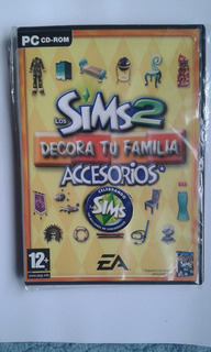 Los Sims 2 Decora Tu Familia Accesorios*