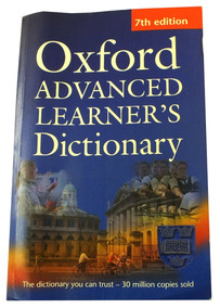 Dicionario Em Inglês Oxford Advanced Learner