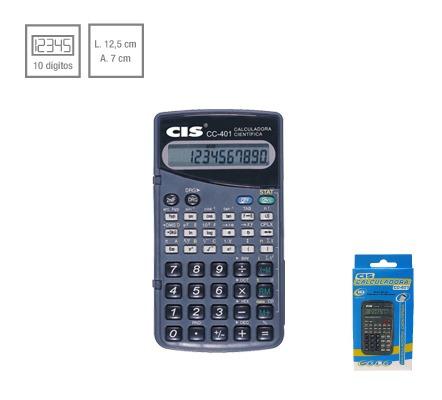 Calculadora Cientifica Cis Cc - 401 10 Digitos
