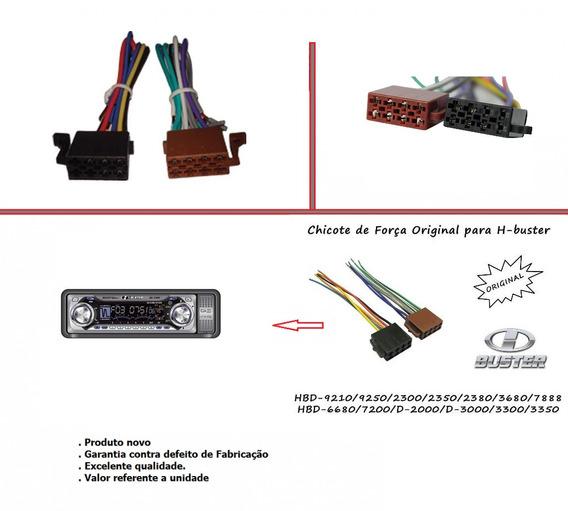 Chicote Cd Hbuster Original Hbd 7200
