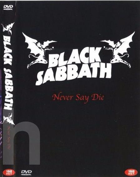 Black Sabbath - Never Say Die - Dvd Imp China Ozzy Osbourne