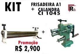 Calandra De Chapa Ci1045 + Frisadeira N01/ 12x
