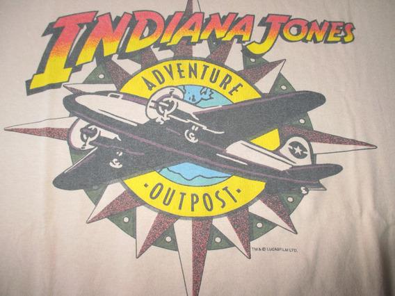 Indiana Jones Remera Universal Studios 1994 Vintage
