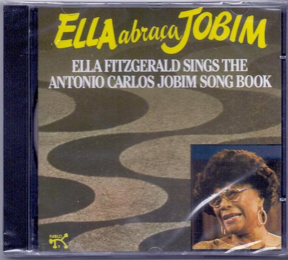 Cd Ella Fitzgerald - Ela Abraça Jobim - Novo***