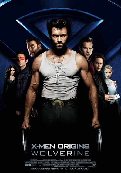 X Men Origines Wolverine Poster!!