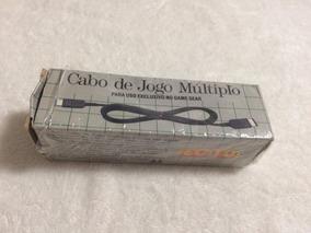 Cabo De Jogo Multiplo Para Uso Exclusivo No Game Gear
