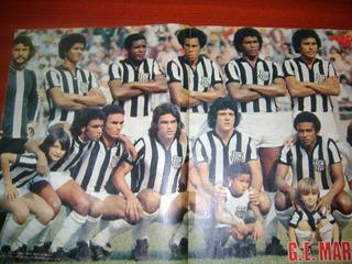 Poster Grêmio Maringá Do Paraná De 1977 Placar
