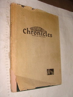 Libro Cronicles , News Of The Past , Formato De Periodico M