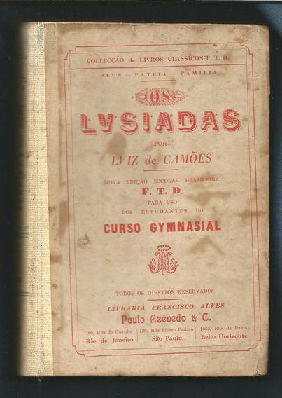 Dams Os Lusíadas Ftd Luis De Camões Literatura