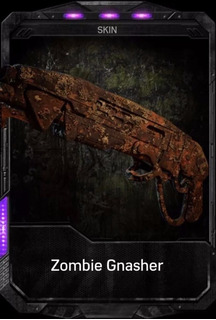 Gnasher Zombie Gears Of War 4