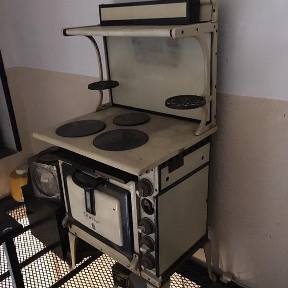 Cocina Eléctrica Antigua A Reparar Canadiense