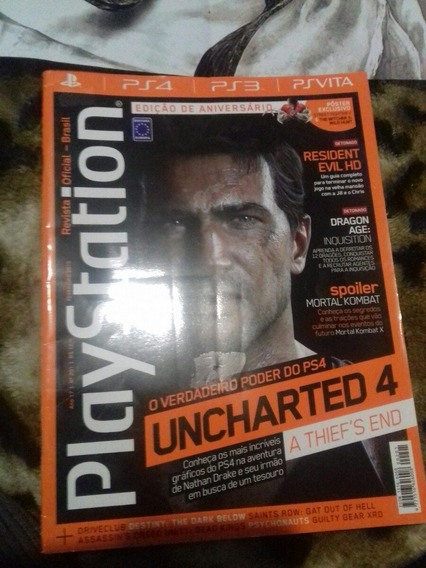 Revista Playstation N201 + Poster Street Figther V