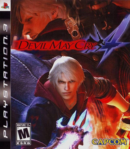 Jogo Devil May Cry 4 Playstation 3 Ps3 Mídia Física Game Dmc