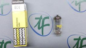 Válvula 6c4 Sylvania - Made In Usa - Nova - Na Caixa - Nos