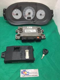 Kit Modulo Injeção Renault Clio/sandero 1.6 16v S120204106a