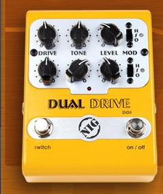 Pedal Nig Dual Drive Dd1 Pedal Guitarra Overdrive Novo Nfe