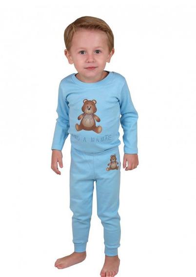 Conjunto Body Urso Menino