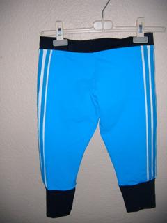 Bermudas Deportivas Para Dama Talla M Color Azul