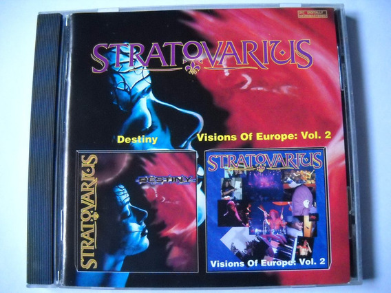 Stratovarius Destiny / Visions Of...vol.2 Cd Nuevo