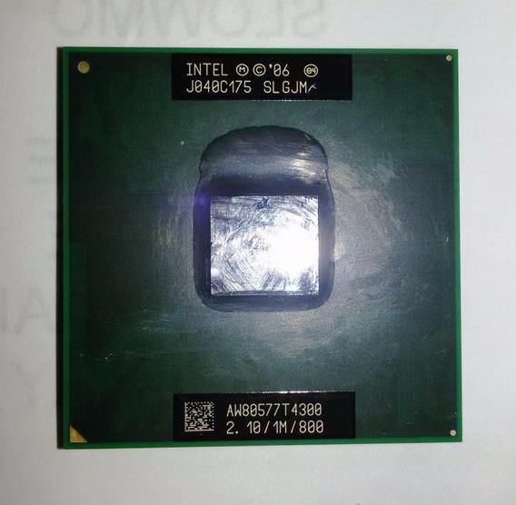 Processador Notebook Intel Pentium T4300 2,10ghz Usado
