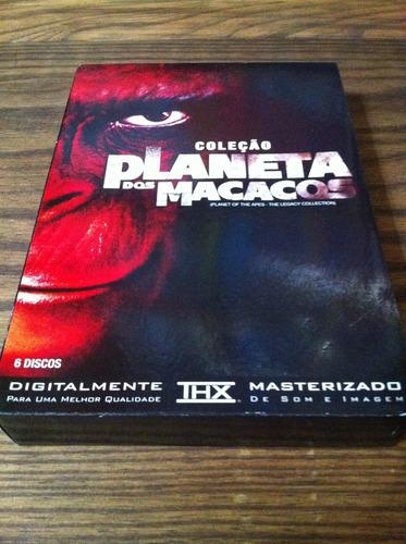 Box-planeta Dos Macacos-6 Dvds