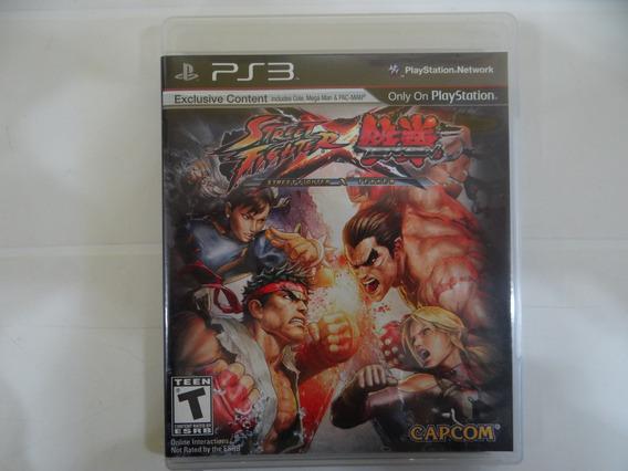Street Fighter Vs Tekken - Ps3 - Completo!