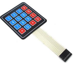 Teclado Matricial 4x4 Arduino - Teclado Membrana Arduino