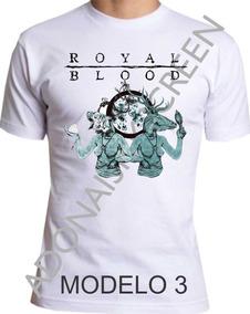 Camiseta Royal Blood, Rock In Rio M-3