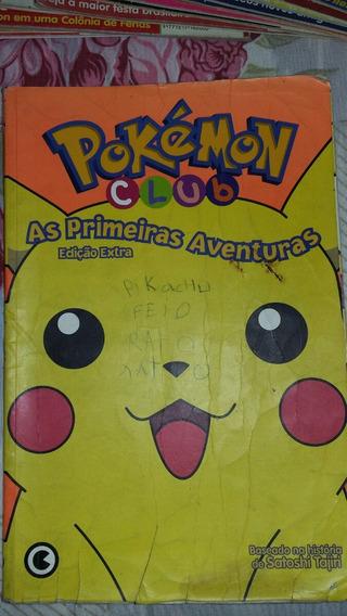 Revista Pokemon Club Edição Extra! Figurinhas