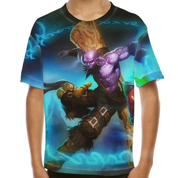 Camiseta League Of Legends Ryze Mago Ladino Infantil