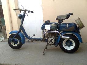 Moto, Motoneta Siambretta 125 Mod: Año:1957