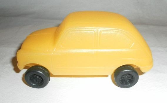 Fiat 600 De Plastico Inflado Escala 1/43 Muy Raro