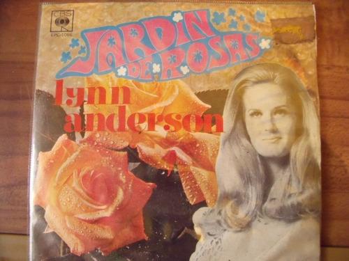 Ep Lynn Anderson Jardin De Rosas Mercado Libre