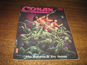 Conan O Indomavel Graphic Marvel Nº 12 Abril/1992 Ed Abril