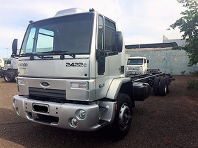 Ford Cargo 24-22 Ano 2008/2009 Truck Chassi Climatizador