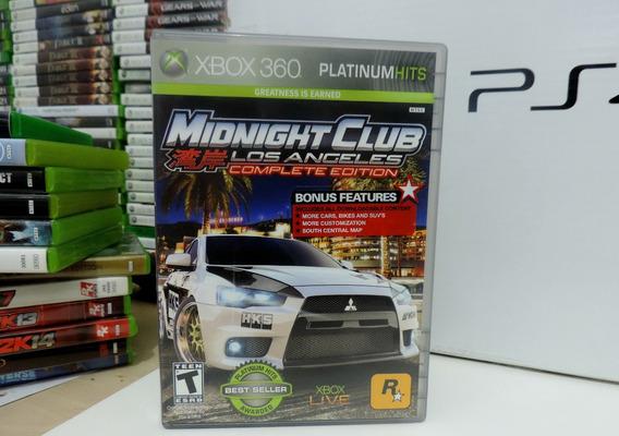 Midnight Club Los Angeles Original Xbox 360